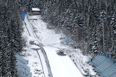 Ski Jumping- Zakopane — Stock Photo
