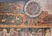 Fresco from Svetitskhoveli Cathedral in Mtskheta, Georgia — Stock Photo