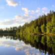 Peaceful lake — Stock Photo