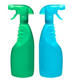 Generic spray bottles — Stock Photo