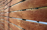 Wooden fence boards — Stock Photo