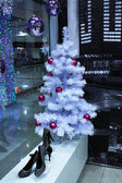 Christmas Tree and Balls — Foto de Stock