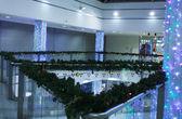 Festive decoration of the premises — Stock Photo
