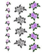 Bordures roses x 3 — Photo