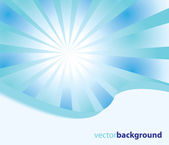 Sunburst — Stock Vector