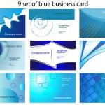 Business card templates — Stock Vector