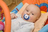 婴儿用的奶嘴 — 图库照片