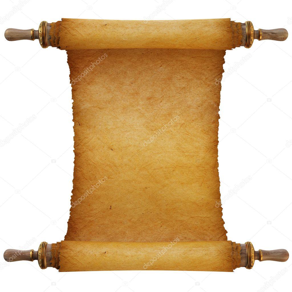 Ancient Scroll: Stock Photo © Dimdimich #4554521