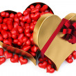Gift heart - Stock Photo