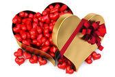 Gift heart — Stok fotoğraf