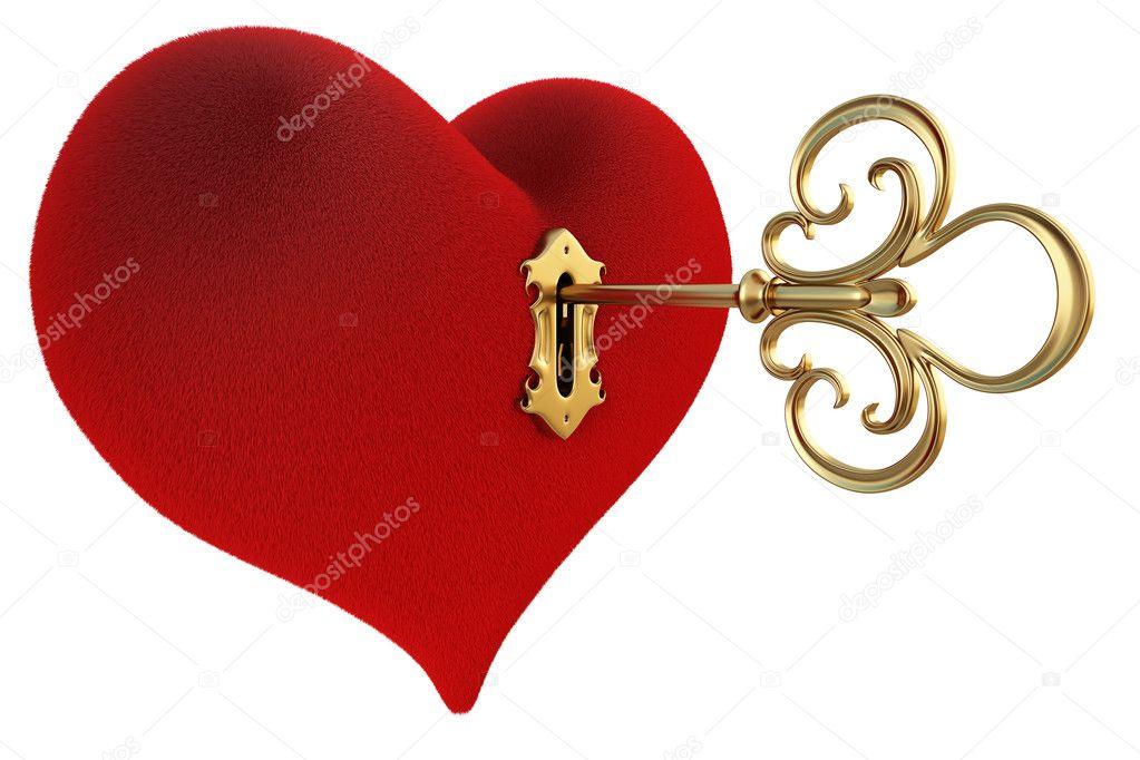 Как сделать ключик от сердца