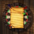 Dartboard - Stock Photo