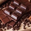 Stock Photo: Chocolate and coffee!