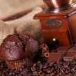 Royalty-Free Stock Photo: Chocolate and coffee!