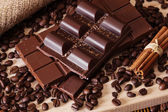Chocolate and coffee! — Stock Photo