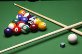 Billiart time! Pool game concept — Stock Photo
