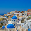 Beautiful panoramic view on Oia — Stock Photo