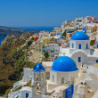 Stock Photo: Beautiful landscape of Santorini