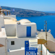 Amazing view of Oia in Santorini — Stock Photo