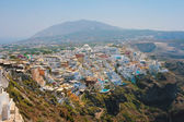 View of Fira in Santorini — Stock Photo