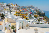 City of Fira in Santorini — Stock Photo