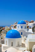 Famous churches of Santorini — Stock Photo