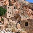 Ruined town Monemvasia in Greece — Stock Photo
