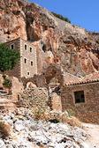 Yıkık kasabayı monemvasia yunanistan — Stok fotoğraf