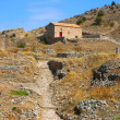Stock Photo: House on Acrocorinth hill