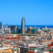 Panorama of Barcelona, Spain — Stockfoto