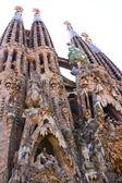 Sagrada Familia, Gaudi's most famous church — Stock Photo