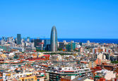 Panorama of Barcelona, Spain — Stock Photo