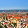 Panorama of French riviera in city of Nice — Stock Photo