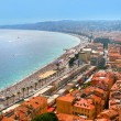 Fantastic cityscape of Nice, France — Stock Photo