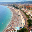 Fantastic panorama of Nice, France — Stock Photo #5350893