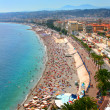 Stock Photo: Beautiful panoramof Nice, France