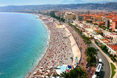 Fantastic panorama of Nice, France — Stock Photo