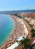Beautiful panorama of Nice, France — Stock Photo