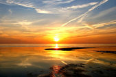 Magnificent sunset — Stock Photo