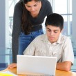 Stockfoto: Two Students Studying Together