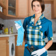 housewife — Stock Photo