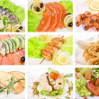 Fish set — Stock Photo