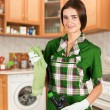 Stock Photo: Housewife