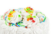 Fruit jelly cake — Stock Photo
