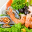 Seafood set — Stock Photo