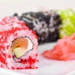 Sushi rolls — Stock Photo #4146331