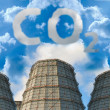 Co2 pollution — Stock Photo