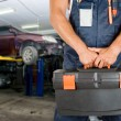 Stock Photo: Auto mechanics