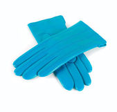 Female leather gloves — Stock Photo