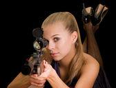 Sniper — Stock Photo